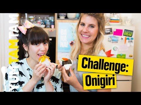 Onigiri-Challenge // Battle um die coolste Füllung // #yumtamtam