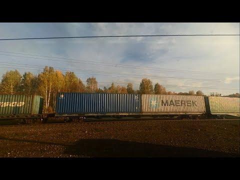 От Новосибирска до Юрги на поезде