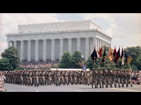 The Last Time The US Held A National Military Parade