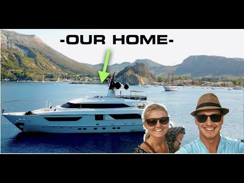 WE LIVE ON A LUXURY SUPER YACHT!!! (Captain's Vlog 105)