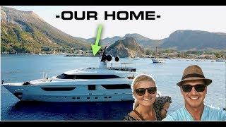WE LIVE ON A LUXURY SUPER YACHT!!! (Captain's Vlog 105)