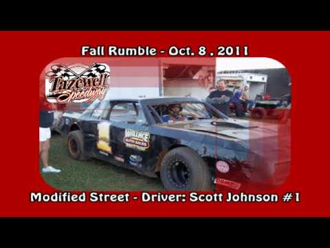 A LOOK BACK: Tazewell Speedway  Scott Johnson In Car camera Oct 8, 2011