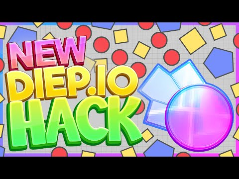 NEW INVISIBLE HACK TANK!! ( Diep.io Gameplay / Hacks )