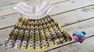 Robe Bébé Crochet 12 Baby Dress Crochet English