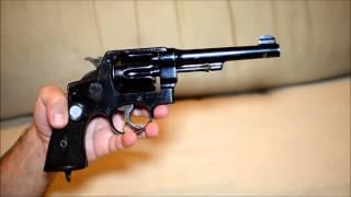 Smith & Wesson 1917/1937 - M937 - Exército Brasileiro