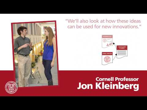 Networks, Crowds, and Markets | CornellX on edX | About Video
