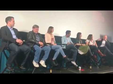 Wynonna Earp panel at Calgary Film Festival 2017