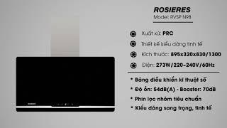 [Chuyên Gia Tư Vấn] Máy hút mùi nhà bếp loại nào tốt - Model RVSP N98 90cm