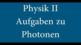 Physik II - Übung: Aufgaben zum gelben Licht