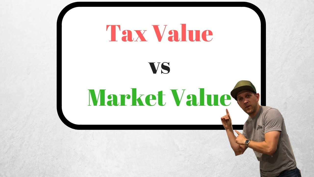 TAX VALUE vs MARKET VALUE | Whiteboard Wednesday S2 S4