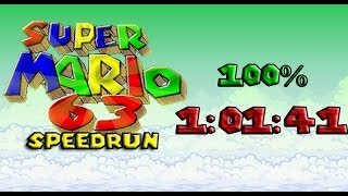 [WR] Super Mario 63 100% Speedrun in 1:01:41