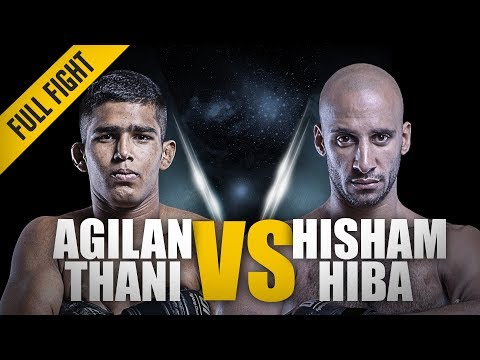 "ONE: Full Fight | Agilan Thani vs Hisham Hiba | The ""Alligator"" Came Out To Hunt 