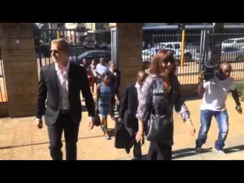 Gareth Cliff arrives at court for judgment