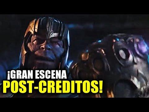 ¡Esta Es La Brutal Escena Post-Créditos De Avengers Infinity War! Lo Mas Triste