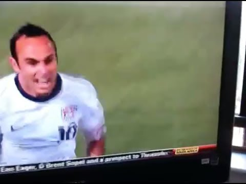 10 years ago, the epic ESPN Axis angle of Tim Howard's throw.