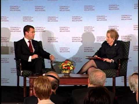 A Conversation with Dmitry Medvedev