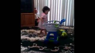 Baby girl likes to dance and sing Thumbnail