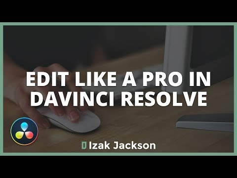 EDIT LIKE A PRO In Davinci Resolve With These ORGANISATION Features