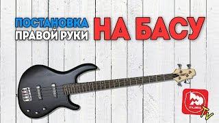 Постановка правой руки на бас-гитаре и звукоизвлечение. Уроки на басу с Дмитрием Максимовым