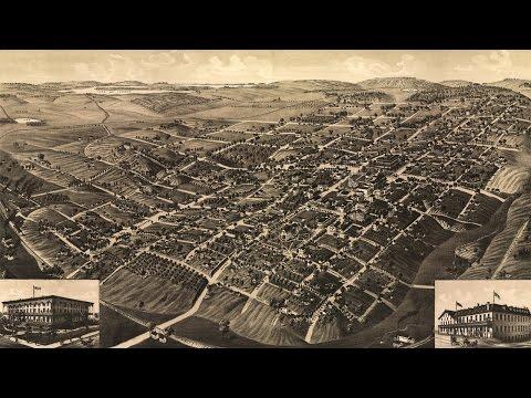 Tallahassee Florida History and Cartograph (1885)
