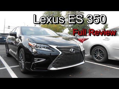 2016 Lexus ES 350 & 300h: Full Review