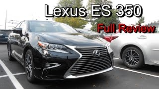 2016 Lexus ES 350 & 300h: Full Review