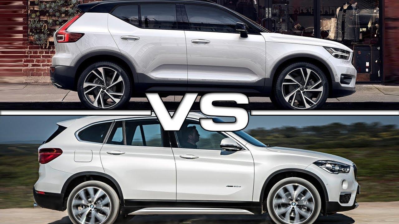 Bmw X1 Vs X2 >> 2018 Volvo XC40 vs 2017 BMW X1 - YouTube