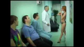 Prykoli.  В больнице.  Медсестра прокварцевалась.  Смотреть обязательно