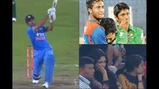 India Need 19  Runs | MS Dhoni made Bangladeshi Fans cry  | Must Watch