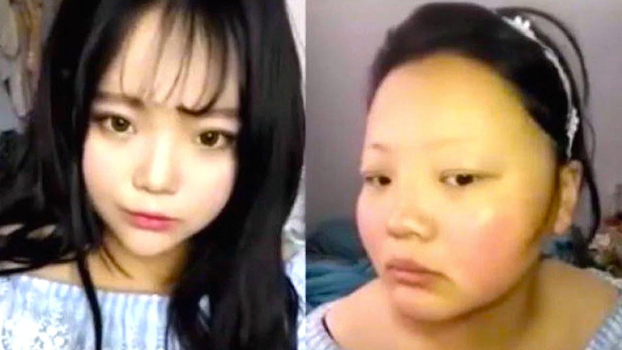 korean girl makeup before and after   saubhaya makeup