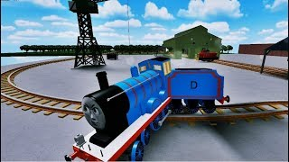Thomas the Tank Engine Cool Beans Railway Rails and Thomas and Friends Slide Down Ride Roblox