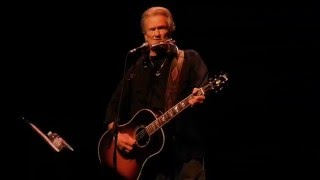 Help Me Make it Through the Night / Feeling Mortal - Kris Kristofferson - San Diego CA - Oct 31 2015