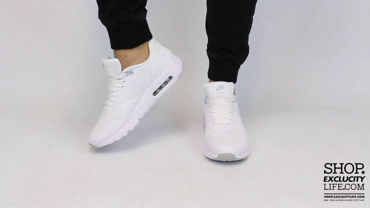 finest selection 7e541 0eb32 Nike Air Max 1 Ultra Essential Gym Red On feet Video at Exclucity