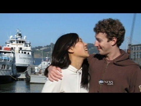 Facebook Stock Down; Mark Zuckerberg Celebrates With New Bride