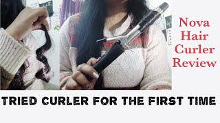 *Beginner friendly* hair curling rod | easy and affordable 🤩| Nova hair curler