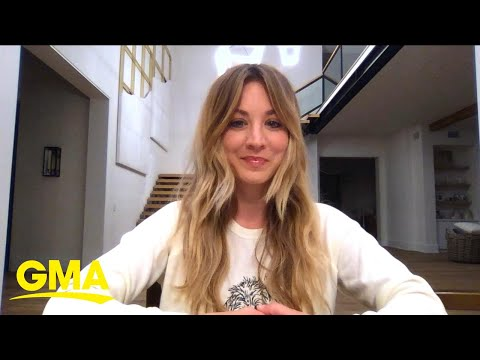 Kaley Cuoco talks about her new show, 'The Flight Attendant' l GMA