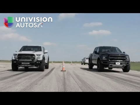 En Video Pelean los depredadores Hennessey VelociRaptor vs Ford Raptor