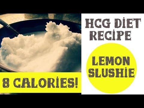 P2 HCG Diet Recipe - 0 Calorie Lemon Slushy Recipe