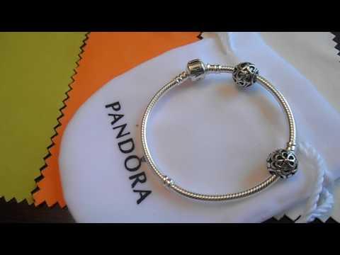 PANDORA Серебряный браслет-основа S 925 AL , реплика 1*1, купить браслет Пандора в Украине