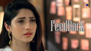 Kahin Deep Jalay || FeedBack || Har Pal Geo || Drama