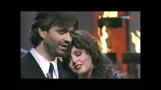 Video Sarah Brightman and Andrea Bocelli - 'POR TI VOLARE' Live download MP3, 3GP, MP4, WEBM, AVI, FLV September 2018