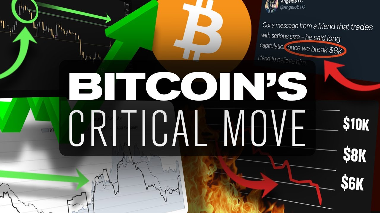 BITCOINs Big Move Is Near! Pump to 11k or Dump to 8k?