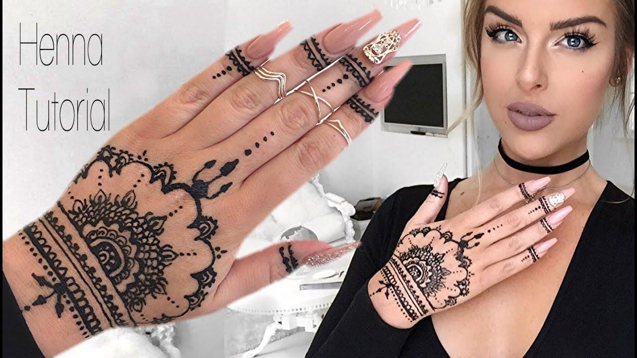 How To Henna Tutorial  YouTube