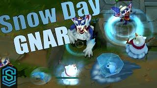 Snow Day Gnar Skin Spotlight - League of Legends