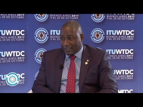 ITU INTERVIEWS @ WTDC-17: Hon. Supa Collins Mandiwanzira, Minister of ICT, Postal & Courier Services