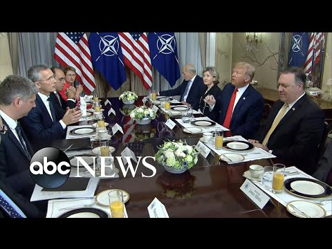 Trump launches harsh attacks on Germany, NATO at summit
