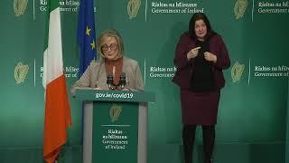Government briefing on coronavirus