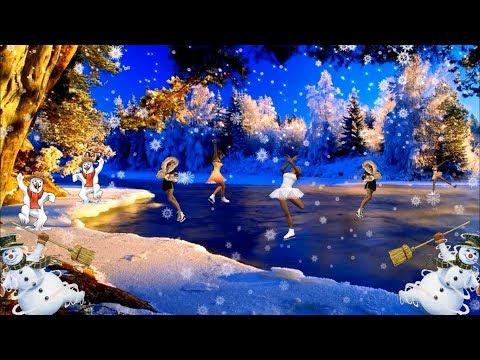 клип снежинки скачать