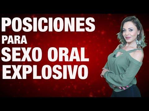 Posiciones para sexo oral explosivo