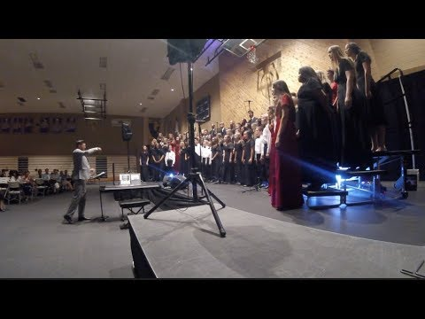 Woodcrest Christian School Vocal Ensemble October 27, 2017